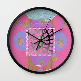 Pink Loneliness Wall Clock