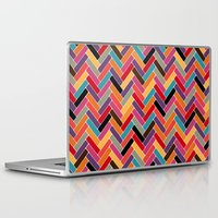 herringbone Laptop & iPad Skins featuring herringbone by Sharon Turner