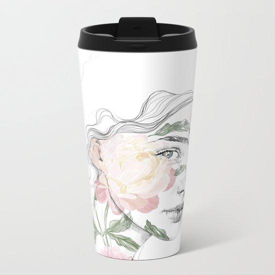 Botanical #1 Metal Travel Mug