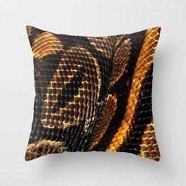 SNAKING Throw Pillow