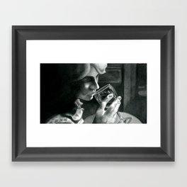"""""""Composition in Black #2"""" Framed Art Print"""