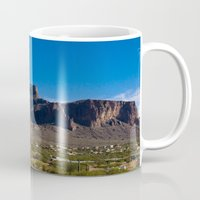 arizona Mugs featuring Arizona by Katie Villarreal