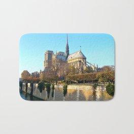 Cathedral of Notre Dame, Paris, France Bath Mat