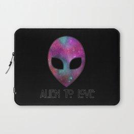 Alien to Love - PURPLE Laptop Sleeve
