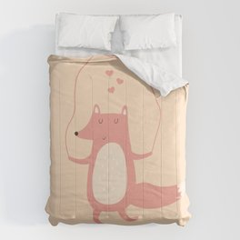 Fox Jumps the Rope Comforters