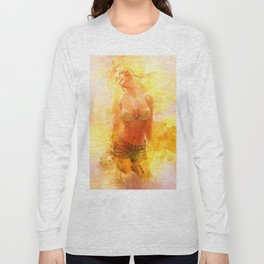 The Girl with the Sun in Her Hair IV Long Sleeve T-shirt