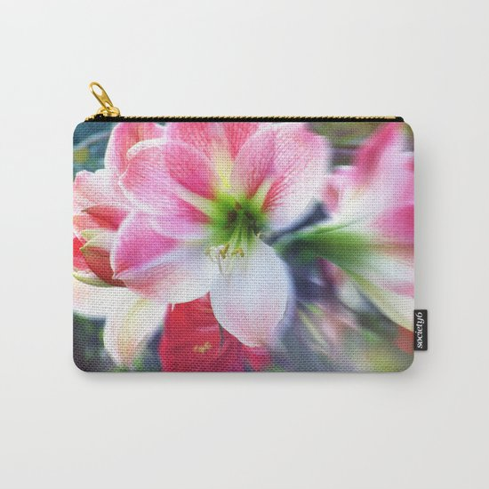 Atmospheric Amaryllis Carry-All Pouch