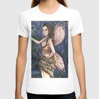 fireflies T-shirts featuring Fireflies Fairy Art by Laurie Leigh Art