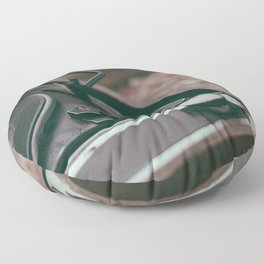 Vintage turntable Floor Pillow