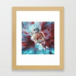 Chroma Void Framed Art Print
