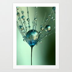 Touch of Blue Art Print