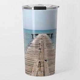 BEACH DAYS 44 - Bridge Travel Mug