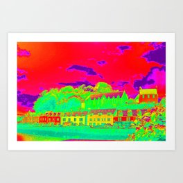 Thermal art 070 Art Print
