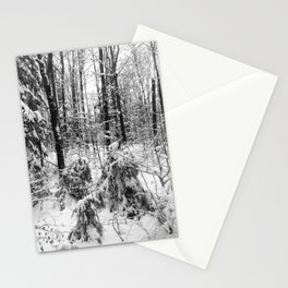 Romance of Snow Stationery Cards