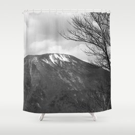 Nikkō mountain Shower Curtain