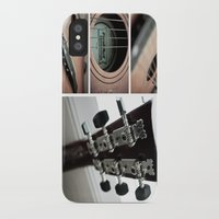 guitar iPhone & iPod Cases featuring Guitar by TJAguilar Photos