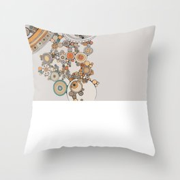 circles IV Throw Pillow