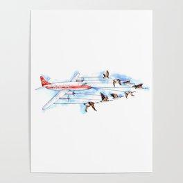 Air Canada Goose Poster