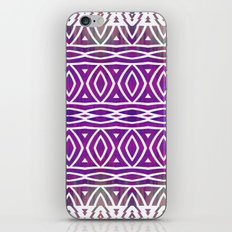Purple Mix iPhone & iPod Skin