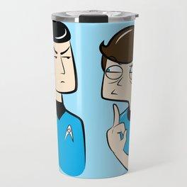 Spock You Travel Mug