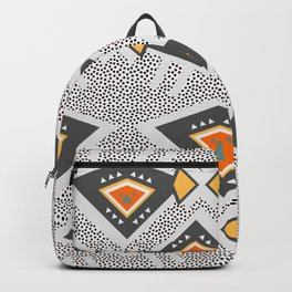Dotted ethnic pattern Backpack