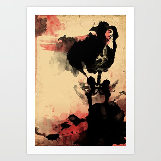 if you loved me.. Art Print