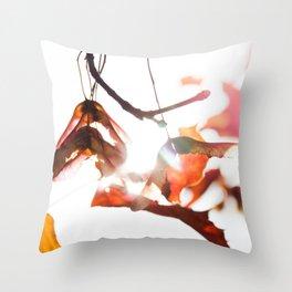 Autumn Sonata II Throw Pillow