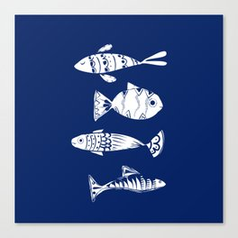 Sea fishes Canvas Print