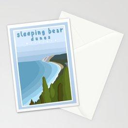 Sleeping bear dunes Michigan  Stationery Cards