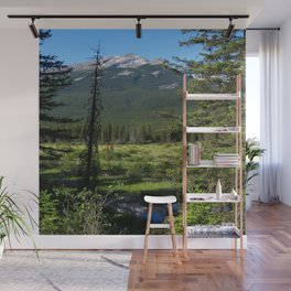 Beautiful Bow Valley Wall Mural