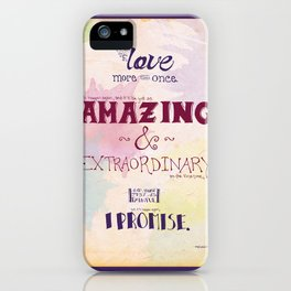 More Than Once iPhone Case