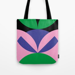 To me, it seems like an angry ninja face with leafes on it's head. Tote Bag