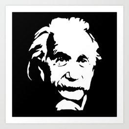 Portrait of Albert the Genius Art Print