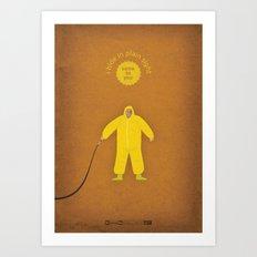 Breaking Bad - I See You Art Print