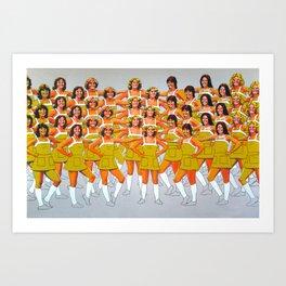 CHEER Art Print