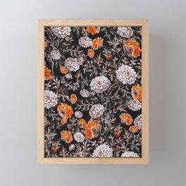 EXOTIC GARDEN - NIGHT XVII Framed Mini Art Print