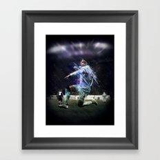 Alexis Sanchez Framed Art Print