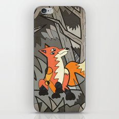 Fox in the Woods iPhone & iPod Skin