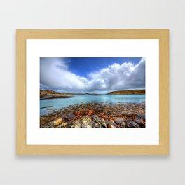 Rodel, Isle of Harris Framed Art Print
