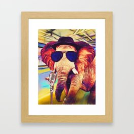 Trunk it Up Framed Art Print