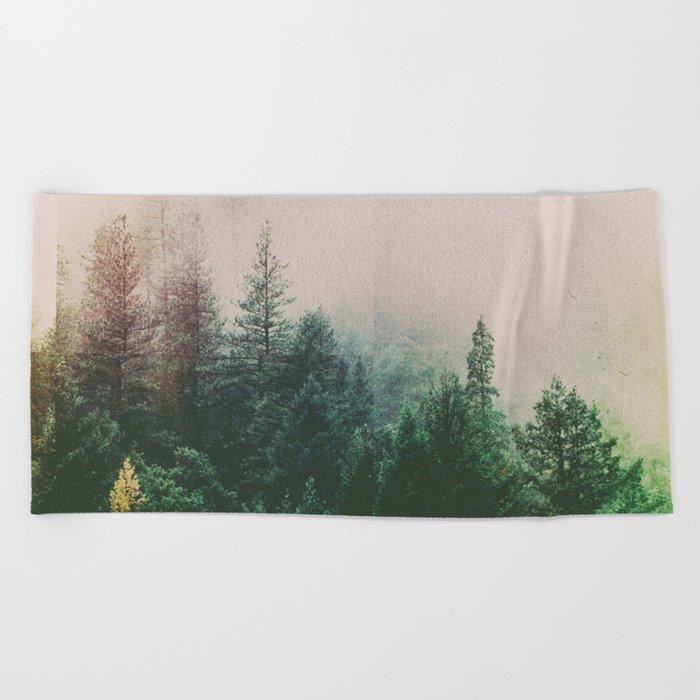 Fractions A71 Beach Towel