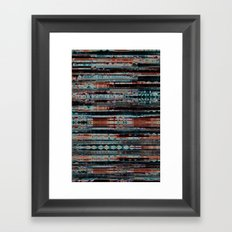 Copper Framed Art Print