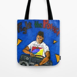 Fight the Power- RADIO Tote Bag