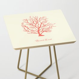 AFE Branch Coral, Living Coral Side Table