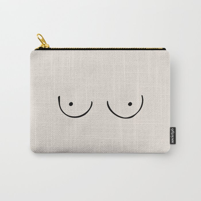 Boobs Carry-All Pouch