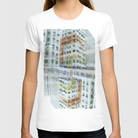 hong kong T-shirts featuring Hong Kong Apartments by Eugene Lee