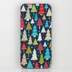 Christmas Trees iPhone & iPod Skin