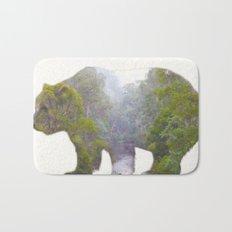 The Grizzly Bear Bath Mat