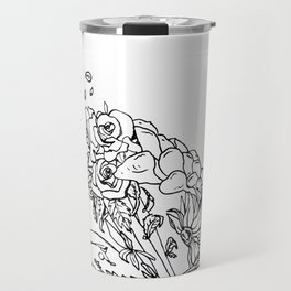 Smells Like Roses Travel Mug
