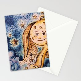 even the stars look different Stationery Cards